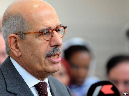 البرادعی از رقابتهای انتخابات ریاست جمهوری مصر کنار رفت