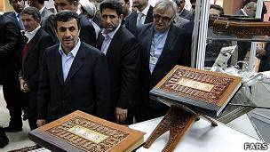احمدینژاد: فردوسی مکتب پیامبر اسلام را نجات داد