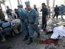 چهار سرباز پلیس افغانستان در  حمله انتحاری كشته شدند