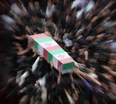 تشییع و خاکسپاری پیکرپاک 2 شهید گمنام دفاع مقدس در دانشگاه آزاد اسلامی ارومیه