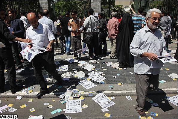 گزارش تصویری / آغاز تبلیغات مرحله دوم نهمین دوره انتخابات مجلس شورای اسلامی