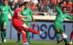 لیگ قهرمانان آسیا/ تساوی پرسپولیس و الشباب در نیمه نخست