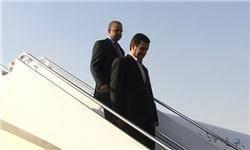 احمدی نژاد دقایقی پیش وارد پکن شد