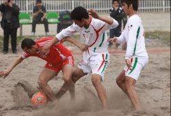 تیم فوتبال ساحلی چین حریف ایران شد