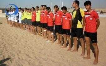 چینیها مقابل ملیپوشان کشورمان شکستند   اولین قهرمانی فوتبال ساحلی ایران در قاره کهن