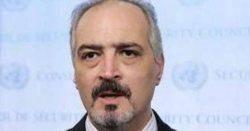 سفیر سوریه در سازمان ملل وخانواده اش تهدید به قتل شدند