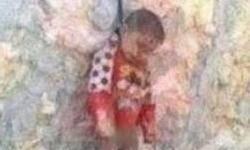 اعدام یک کودک به دست تروریستهای سوریه