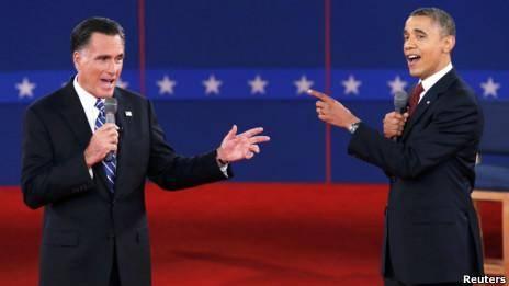 مناظره دوم اوباما و رامنی برگزار شد