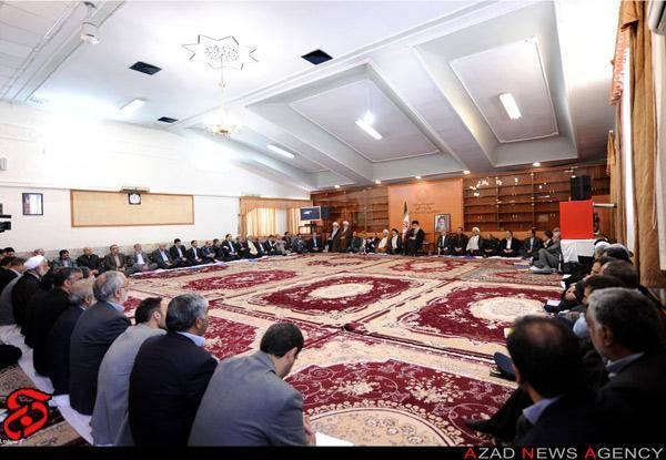 جلسه هيأت وزيران در محضر رهبر معظم انقلاب
