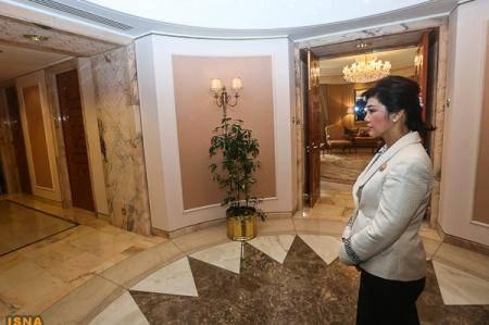 عکس/دیدار خانم نخستوزیر با احمدینژاد