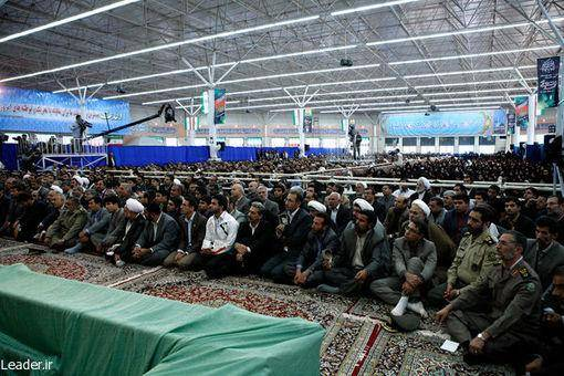 تصاویر: دیدار نخبگان خراسان شمالی با رهبر انقلاب