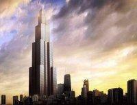 ساخت بلندترین آسمانخراش جهان در 90 روز