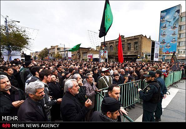 عکس خبری/ مراسم عزاداری اباعبدالله الحسین (ع) در ارومیه