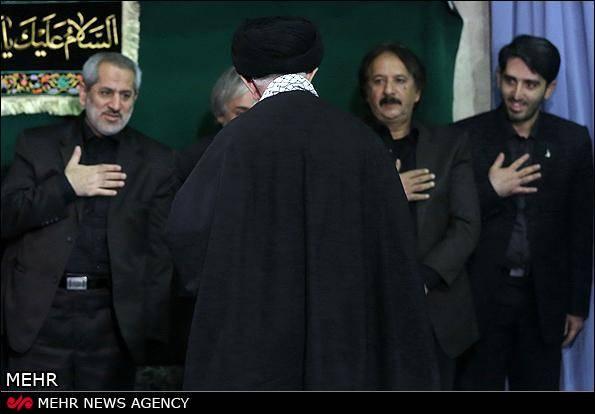گزارش تصویری/ دومین شب عزاداری امام حسین (ع) در حضور رهبر معظم انقلاب