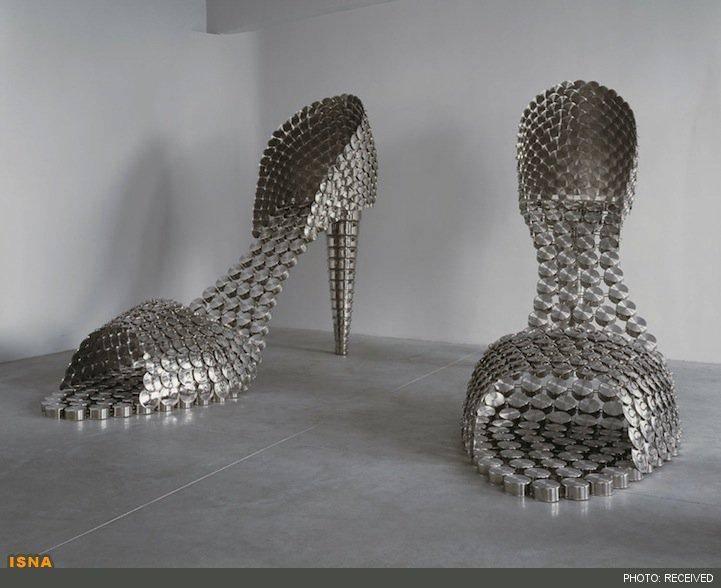 تصاویر/ کفش قابلمهای!