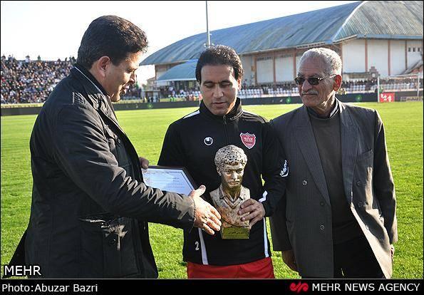 گزارش تصویری/ دیدار تیم فوتبال ملوان و پرسپولیس