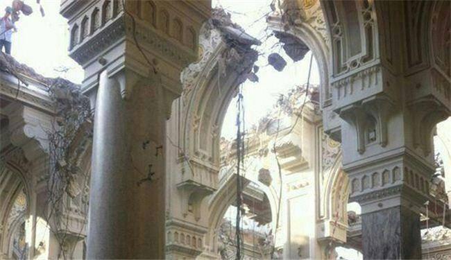 آغاز تخریب مسجد الحرام/ عکس