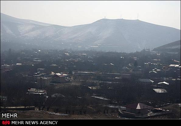 گزارش تصویری / آلودگی هوا در دماوند