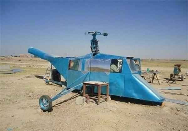 هلیکوپتر دست ساز عراقی/ تصاویر
