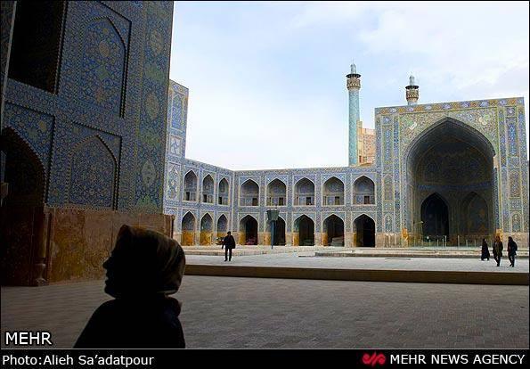 مسجد جامع عباسی اصفهان