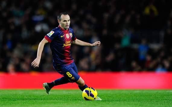 اینیستا بهترین بازیساز دنیا در سال 2012 به انتخاب IFFHS