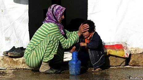 اردن: ٢٠ هزار آواره سوری در سه روز گذشته وارد اردن شدند