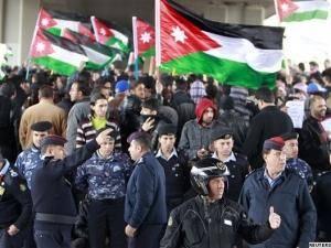 آغاز مجدد ناآرامی ها در اردن پس از اعلام نتایج اولیه انتخابات
