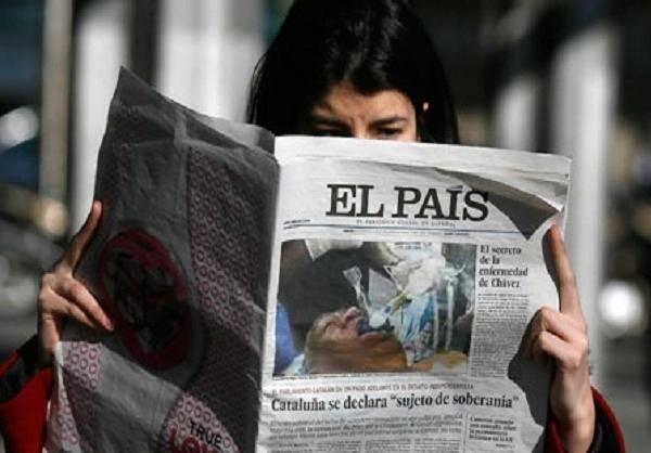 انتشار عکس دروغین از چاوز/ عکس
