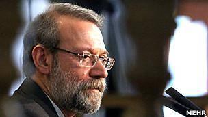 رئیس مجلس ایران از رهبر جمهوری اسلامی عذرخواهی کرد