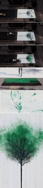 جالب ترین خط عابر پیاده جهان!/تصاویر
