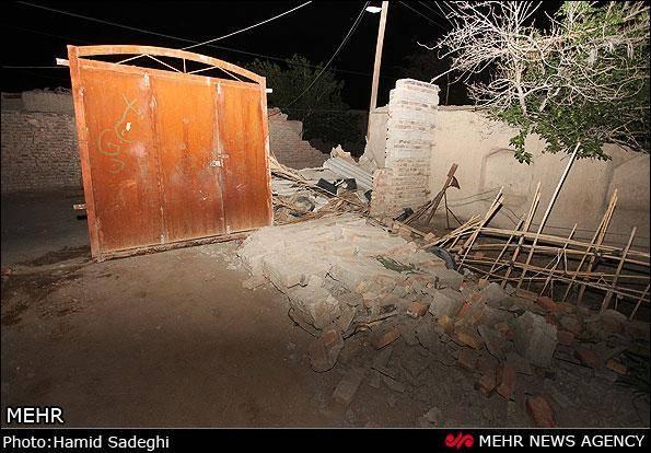 تصاویر / وقوع زلزله در سراوان