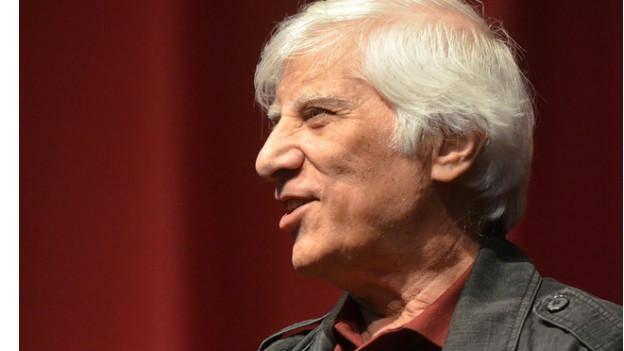 بهرام بیضایی در جشنواره سینمای ایران در دانشگاه لس آنجلس