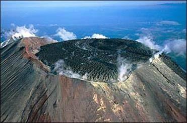 اثرات زلزله سراوان بر آتشفشان تفتان +عکس