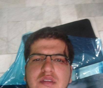 حمله اراذل به دانشجوی بسیجی/عکس