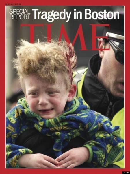 عکس/جلد مجله تایم ویژه انفجار بوستون