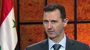 بشار اسد: کشورهای غربی هزینه حمایت از القاعده را خواهند پرداخت