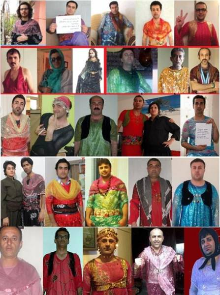 همگرایی کردها برای اعتراض به تحقیر زن کرد و لباس زنانه کردی اخبار روز