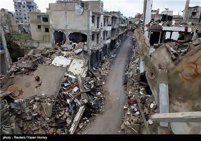 ویرانی های جنگ داخلی سوریه/تصاویر