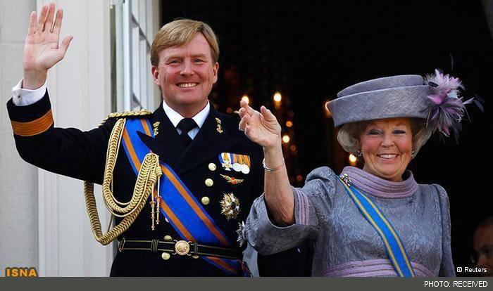 ملکه هلند بازنشسته شد