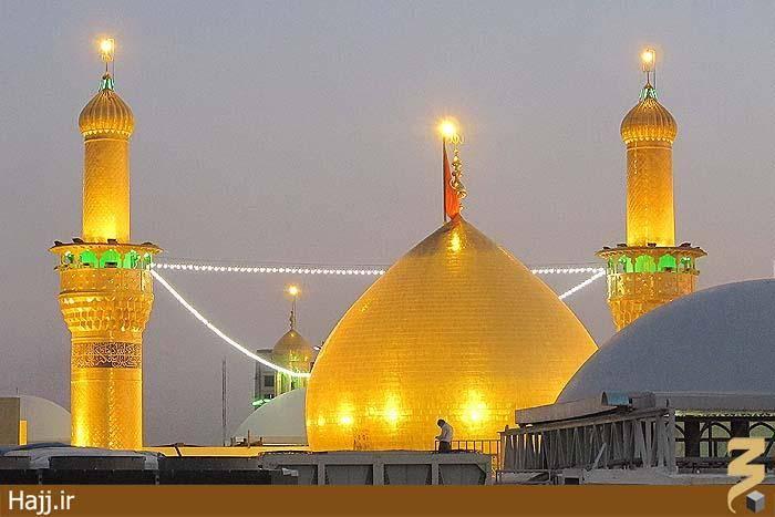 تصویر جدید از گنبد حرم امام حسین(ع)