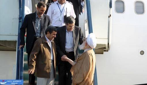 تصاویر:سفر احمدی نژاد به استان گیلان