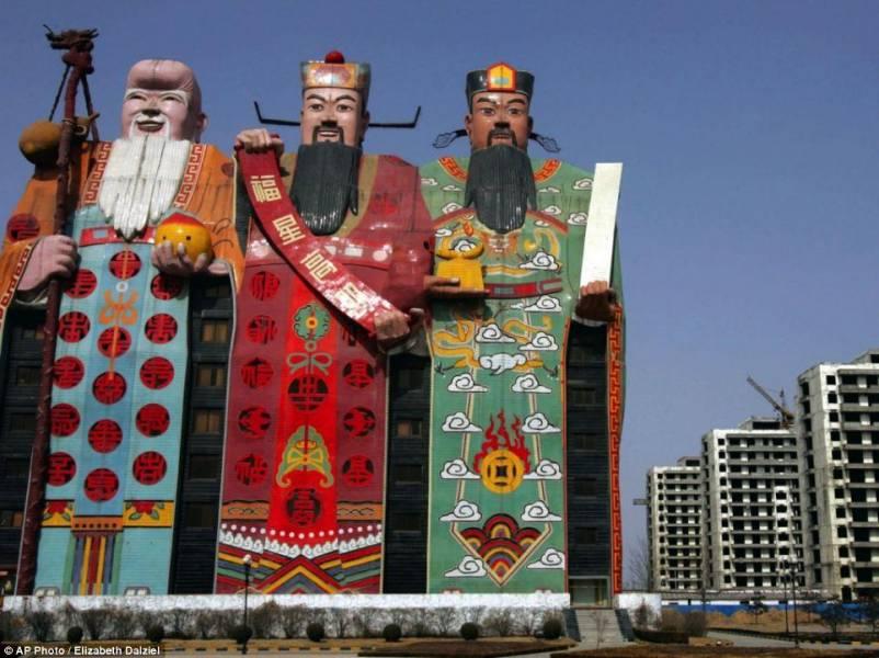 ساختمان سازی جالب چینی ها /تصاویر