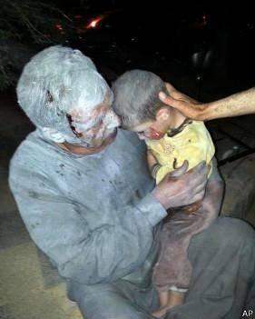 شواهد استفاده ارتش سوریه از سلاح شیمیایی به بیبیسی ارائه شد