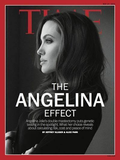 آنجلینا جولی روی جلد مجله تایم (عکس)