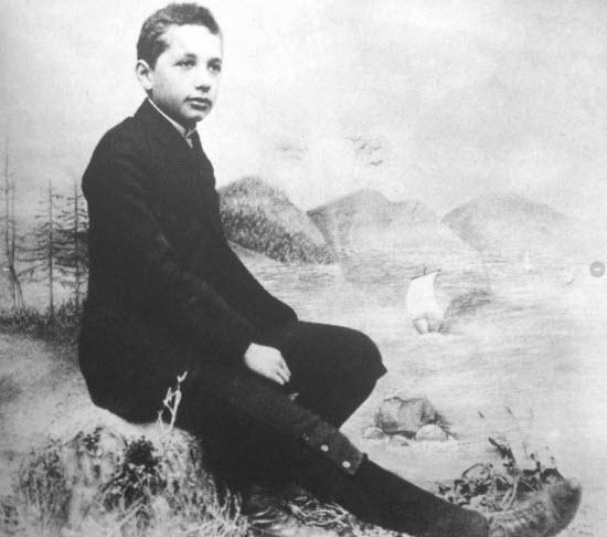 عکس/ آلبرت انیشتین در کودکی