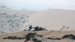 هفت سرباز و پلیس مصری در صحرای سینا گروگان گرفته شدند