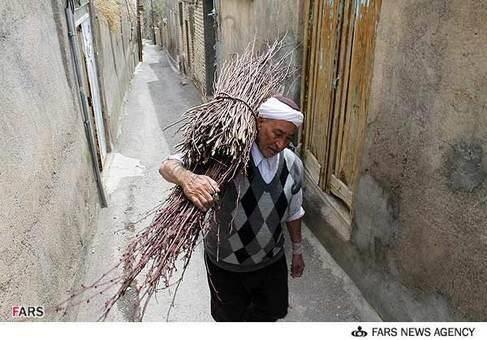تصاویر: سبد بافی سنتی