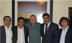 قلعهنویی در دیدار با مسئولان دیناموکیف اوکراین