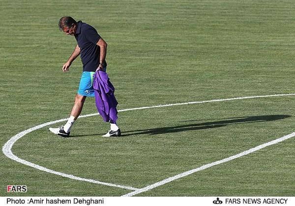 تصاویر/تمرین تیم ملی فوتبال ایران