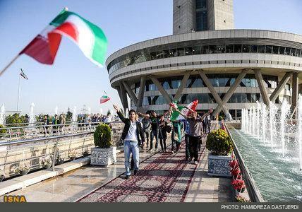 تصاویر/ پایکوبی مردم تهران